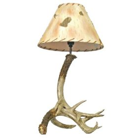 Antler Table Lamp Without Shade 24""