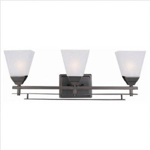 3-Lite Wall Lamp - Ontibile Series Dark Bronze