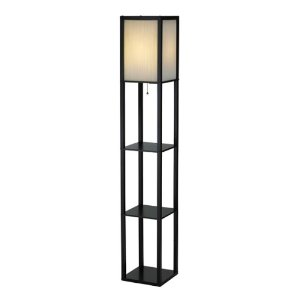 Adesso Berk Shelf Floor Lamp