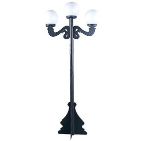 Perfect Classic Street Lamp Posts Set Of 2