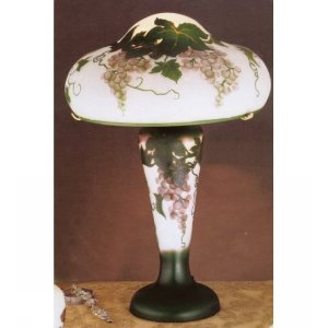 Two Light Wine Grapes Table Lamp