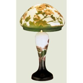 Galle Poppy Table Lamp by Meyda Tiffany