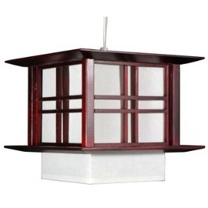 Akida Japanese Electric Hanging Lamp