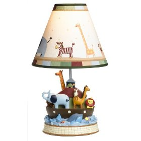 Kid's Two by Two Lamp Base w/ Shade