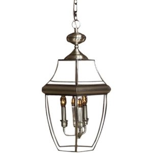 Quoizel Newbury 4-Light Outdoor Hanging Lantern