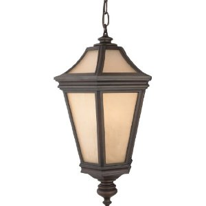 Quiozel Petalo 3-Light Outdoor Hanging Lantern