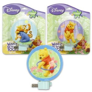 Disney Winnie The Pooh & Piglet Night Light
