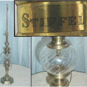 Stiffel Lamps Parts Vintage Stiffel Lamp Lenox Porcelain